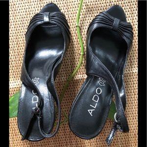 Aldo | Open Toe Heel